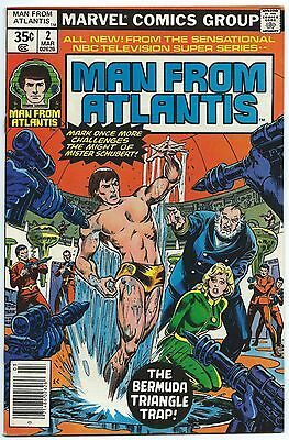 MAN FROM ATLANTIS #2 Mar 1978 MARVEL Comics NBC TV Show Starring PATRICK DUFFY