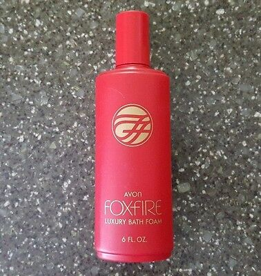 Avon Foxfire Luxury Bath Foam 6 oz - New Old Stock / NOS