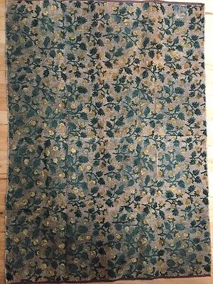 """Antique Floral Tapestry Large 36"""" X 48"""""""