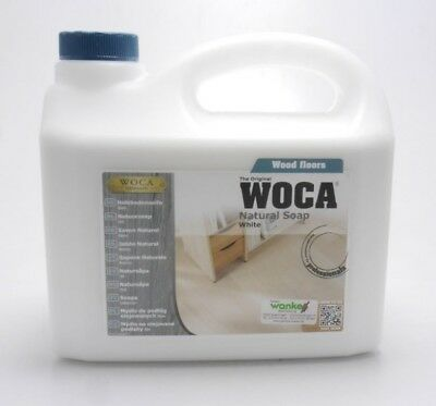 Woca Holzbodenseife 2,5 L weiß oder natur Holzseife Bodenseife