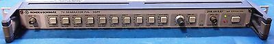 Rohde and Schwarz SGPF TV Television PAL Generator 2016.4049.02 Rackmount Used