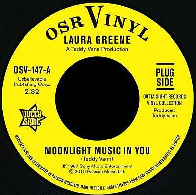 "LAURA GREENE * Moonlight Music In You + PEGGY MARCH 7"" Neu*Outta Sight"