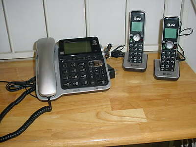 At&t Telephone - Cord/cordless Cl84102 - Answering, Caller Id, Call Waiting - 2