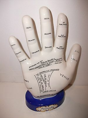 Vintage Royal Stafford Palmistry Hand