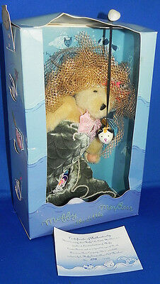 Muffy The Little MerBear 1996 Limited Edition NABCO Plush VanderBear Mermaid