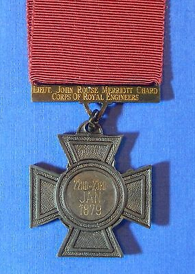 British Victoria Cross Named Lt Chard Rorke's Drift Recipient Copy        Ab0001