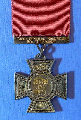 British Victoria Cross Named Lt Bromhead 24Th Foot Rorke's Drift Copy     Ab0002
