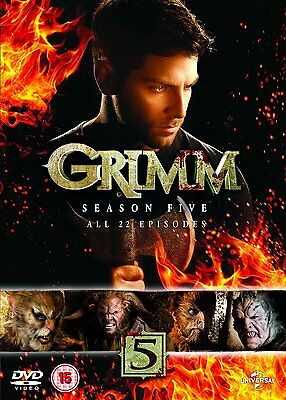 """Grimm: Season Series 5 DVD New & Sealed R4 """"on sale"""" for limited time"""
