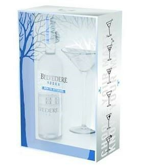 Belvedere Pure Vodka Martini Gift Pack (6 x 700mL)