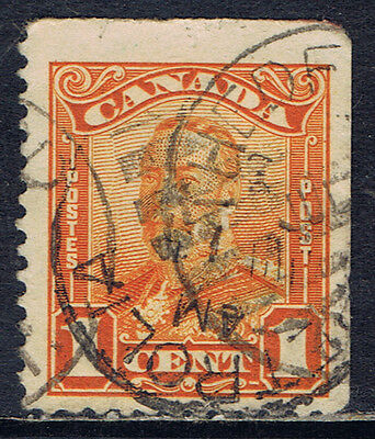 """Canada #149as(13) 1928 1 cent orange GEORGE V """"SCROLL"""" BOOKLET ISSUE CV$3.00"""