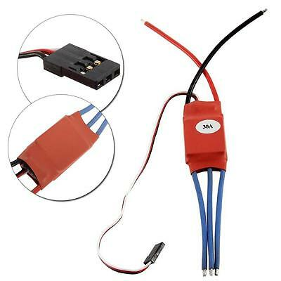 DIY Simonk 30Amp 30A Brushless Speed Controller ESC for Helicopter Airplane WS