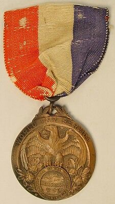 WW1 Mahoning County OH State Ohio Veteran War Service Medal Local Medals Robbins