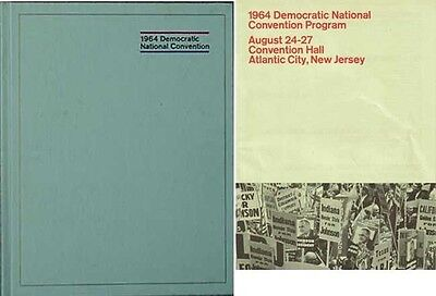 1964 Democratic National Convention Book & Program (L.b. Johnson) Jfk Section