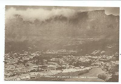 SOUTH AFRICA - APPROACH of a SOUTH EASTER, TABLE MOUNTAIN, CAPE TOWN   Postcard
