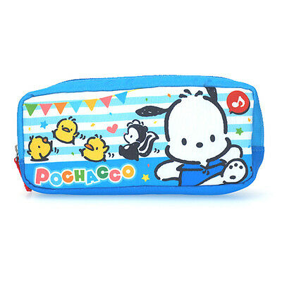 2017 Sanrio Pochacco PC Dog Cosmetic Bag Multipurpose Pouch Pencil Case ~ NEW