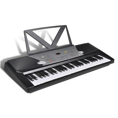Electronic Digital Piano 54 Key Keyboard Stand Classical 12 Demo Song Electric