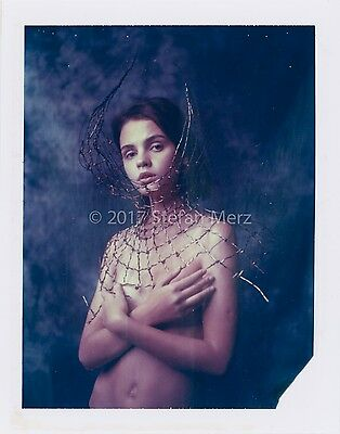 Original Polaroid 669 Nude ART Signed by Herr Merzi #2017-0450