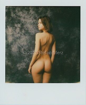 Original Polaroid Impossible Film Nude ART Signed by Herr Merzi #2017-0356
