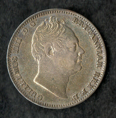 William IV Maundy Fourpence Silver 1834