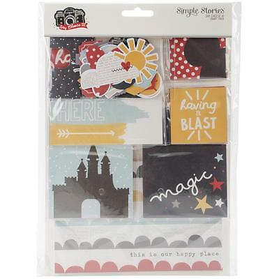 Simple Stories Sn@p Pack - SAY CHEESE III - pocket page scrapbooking 121 pieces