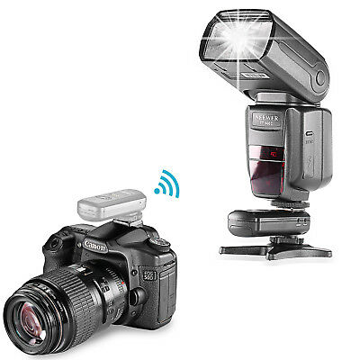 Neewer FC-16 Multi-Channel Wireless Hot Shoe Flash Receiver for Canon Nikon