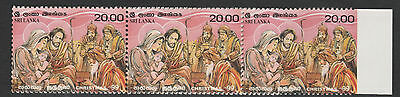 Sri Lanka 4286 - 1999 CHRISTMAS IMPERF WITH MARGIN unmounted mint