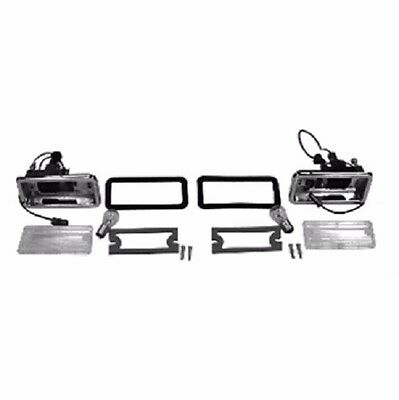 1967-1968 Camaro Rs Rally Sport Back-Up Lamps Housings Lenses Complete Kit! New