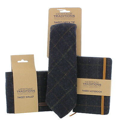 Neck Tie and Matching Wallet / Notebook Gift Set – Birthday/Christmas/Gift