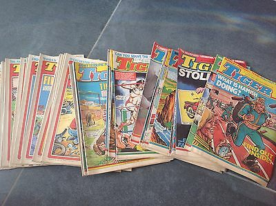 SHOOT COMICS FROM 1982 X 41 job lot, Tiger ,Roy Of The Rovers