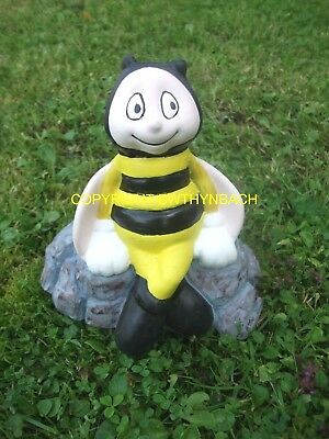 New Design Latex Mould Moulds Mold Make Small Bumble Bee Sat On Rocks Ornament