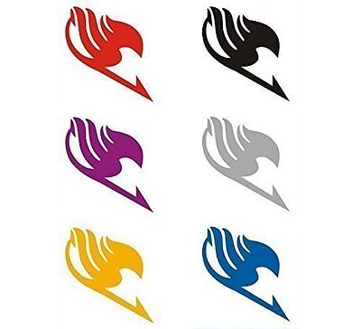 Fairy Tail Temporary Tattoos Stickers Cosplay Set of 6pcs