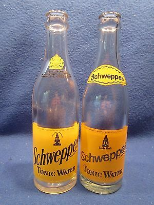 Schweppes Canada Tonic Water 12 Ounce 1968 & 1970 Glass Bottle Returnable Acl