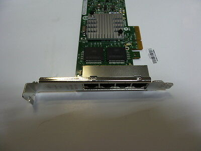 Hp Nc365T 4 Port Network Card Adapter Long Bracket 593722-B21 593743-001