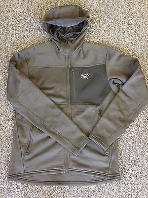 Arcteryx Fortress hoody Men's SMALL black gray BRAND NEW