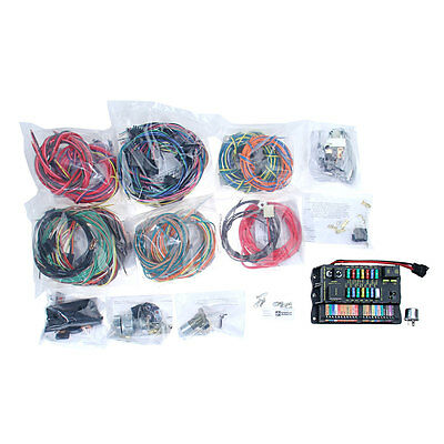 500695 Mustang American Autowire Highway 22 Complete Wiring Kit Universal | CJ P