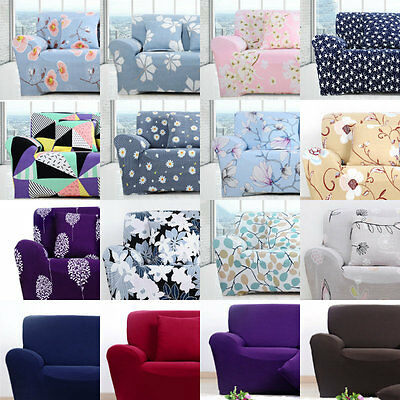Spandex Stretch Slipcover Sofa Loveseat Cover Couch Furniture Protector 4 Sizes