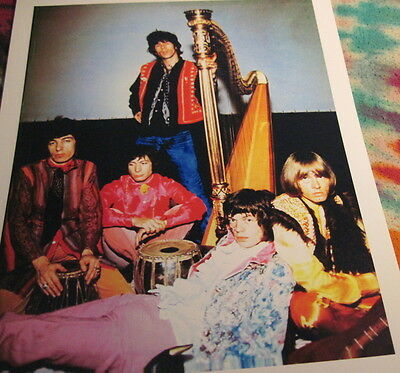 Rolling Stones - 60's -  8 X 10  Color Photo -With Harp --  K @@ L