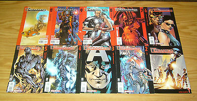 the Ultimates #1-13 VF/NM complete series - mark millar - avengers set lot