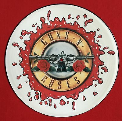 "GUNS 'N' ROSES -November Rain- Rare UK 12"" Picture Disc (Vinyl Record)"