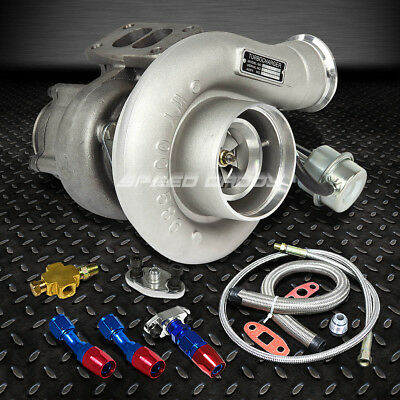 Hx35W Turbocharger+Oil Feed+Drain Line For Ram 2500/3500 6Bt 5.9 Diesel
