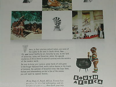 1955 South Africa ad, South African Tourist Corporation