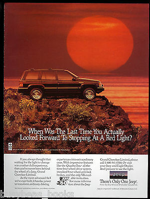 1994 Jeep GRAND CHEROKEE advertisement, Grand Cherokee Limited Canadian advert