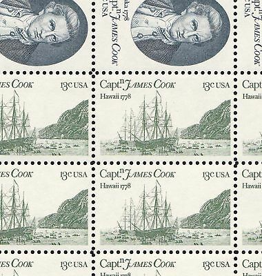 1732-33     Captain Cook    Nh Full Sheet Of 50   ( Sale Special At Face)
