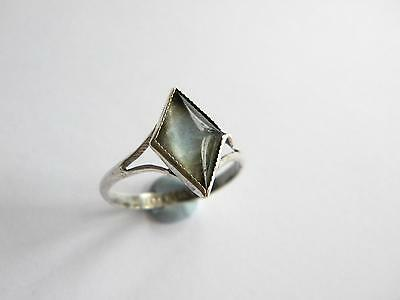 Vintage 1920s Butterfly Wings ring silver 925 ~ A/F