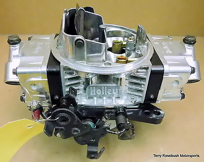 Holley 0-76650BK Ultra Double Pumper Carb, 650cfm, DF/DP, Elec Choke,