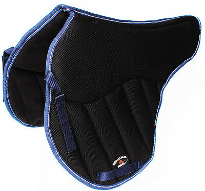 Horse English Treeless SADDLE Pad Contoured Close Contact Memory Foam 12220NV
