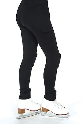 New Figure Skating Protective Padded Leggings Jerry's Black On Order