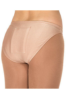 New Figure Skating Protective BRIEF Jerry's Tail Bone Protector Beige On Order