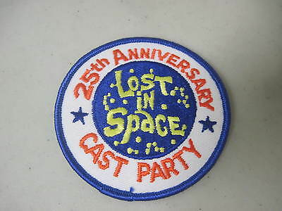"""Lost In Space 25Th Anniversary Cast Party 3"""" Iron-On Patch 1990"""