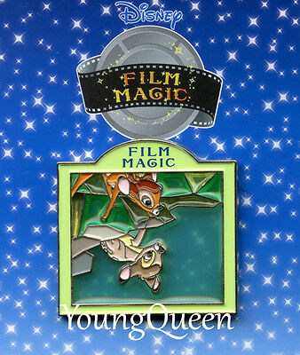 HTF Japan Disney Bambi Theatre Film Magic Stained Glass Pin
